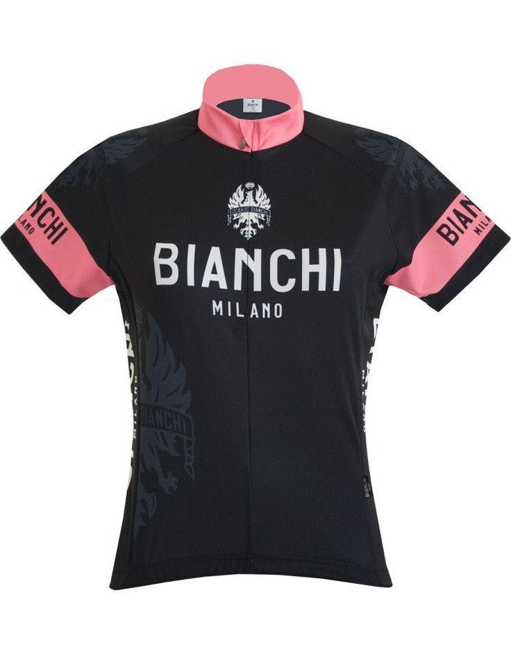 Bianchi Milano Women s Eddi Black Short Sleeve Jersey (2016) a19df8b2b