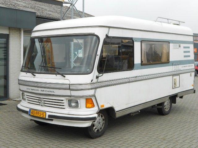 Hymer Mobil Mercedes Benz Uit 1981 Te Koop Op Camperscaravans Nl