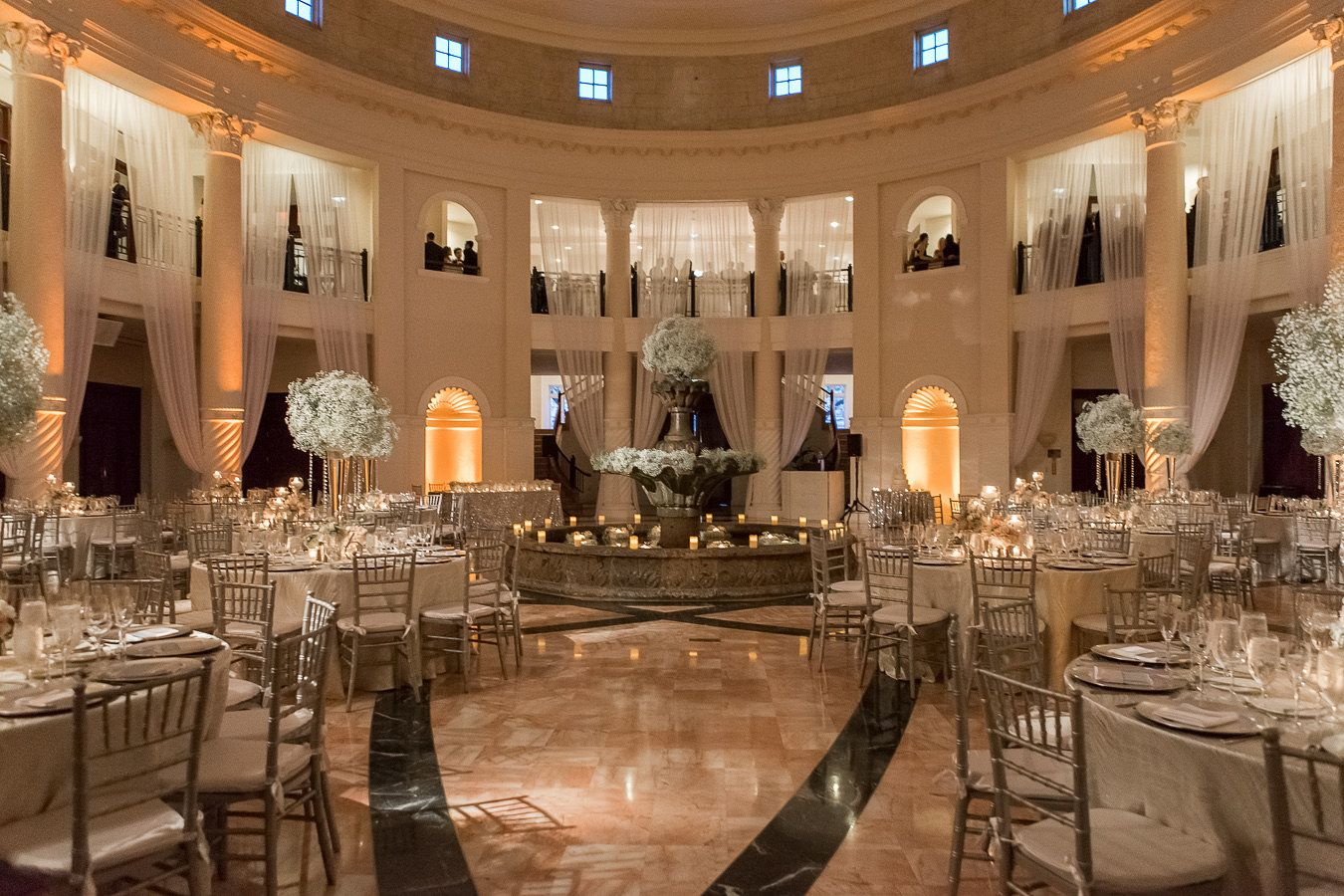 Ethereal Black Tie Wedding Stephanie Nic In C Gables