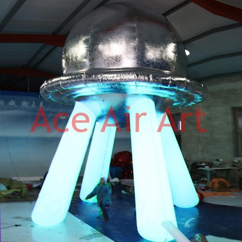 Model Number: 3A-LS308Classification: BallonNumber of Pcs: 1pcis_customized: YesSize: 4.5m H customizedMetiral: 210 D oxford fabricColor: siliver+ whiteAir blower: includeCertification: CE/UL certificatedApplication: Party and EventLights: white led