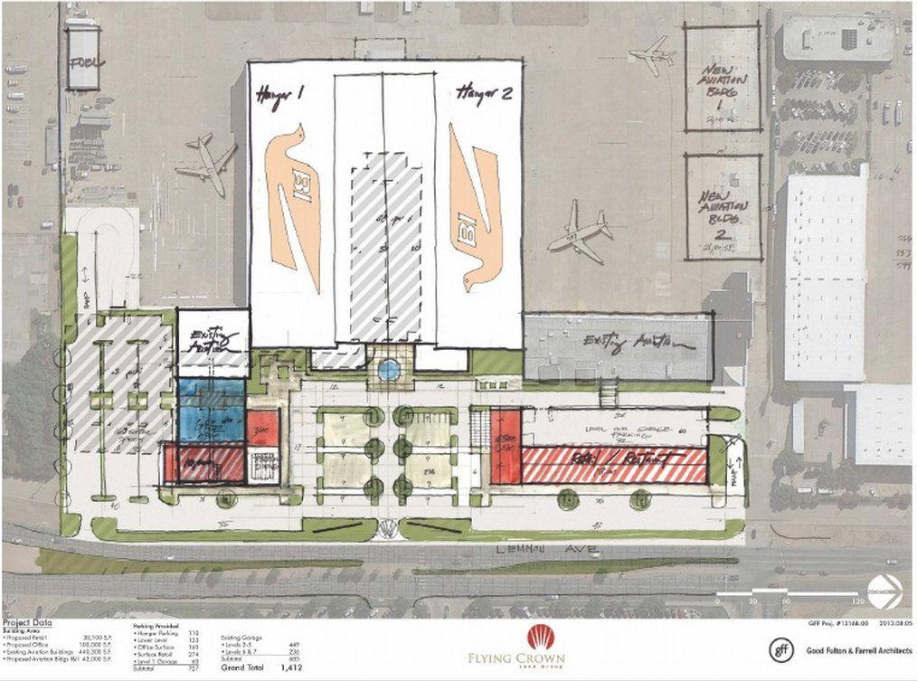 $55 million redo of historic Braniff building at Dallas Love Field ready for full council vote