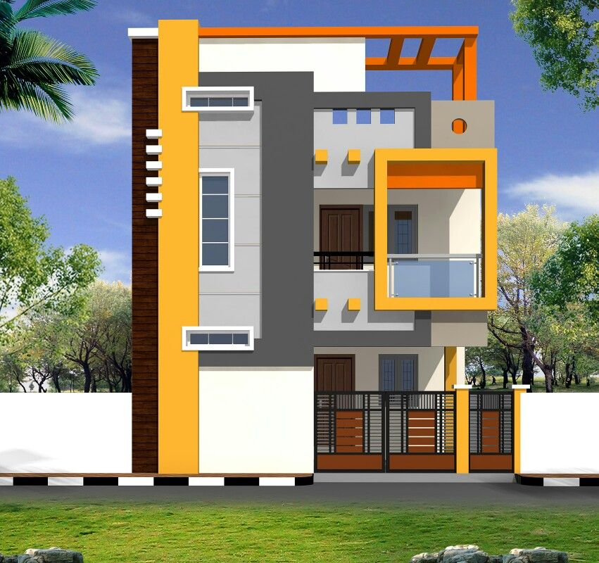 House front design cool designs modern building elevation also subba rao in pinterest rh