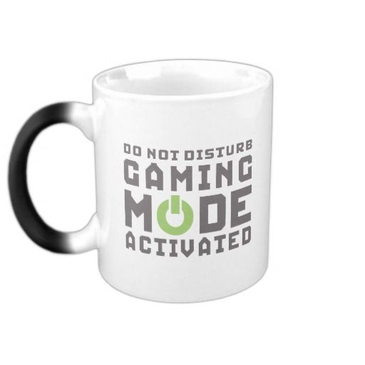 Wedding Gifts For Nerds: Gaming Mode Activated Gamers And Geek Funny Mug