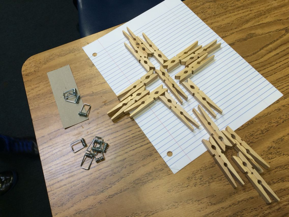 Clothespin cross | School ideas | Cross crafts, Clothespin ...