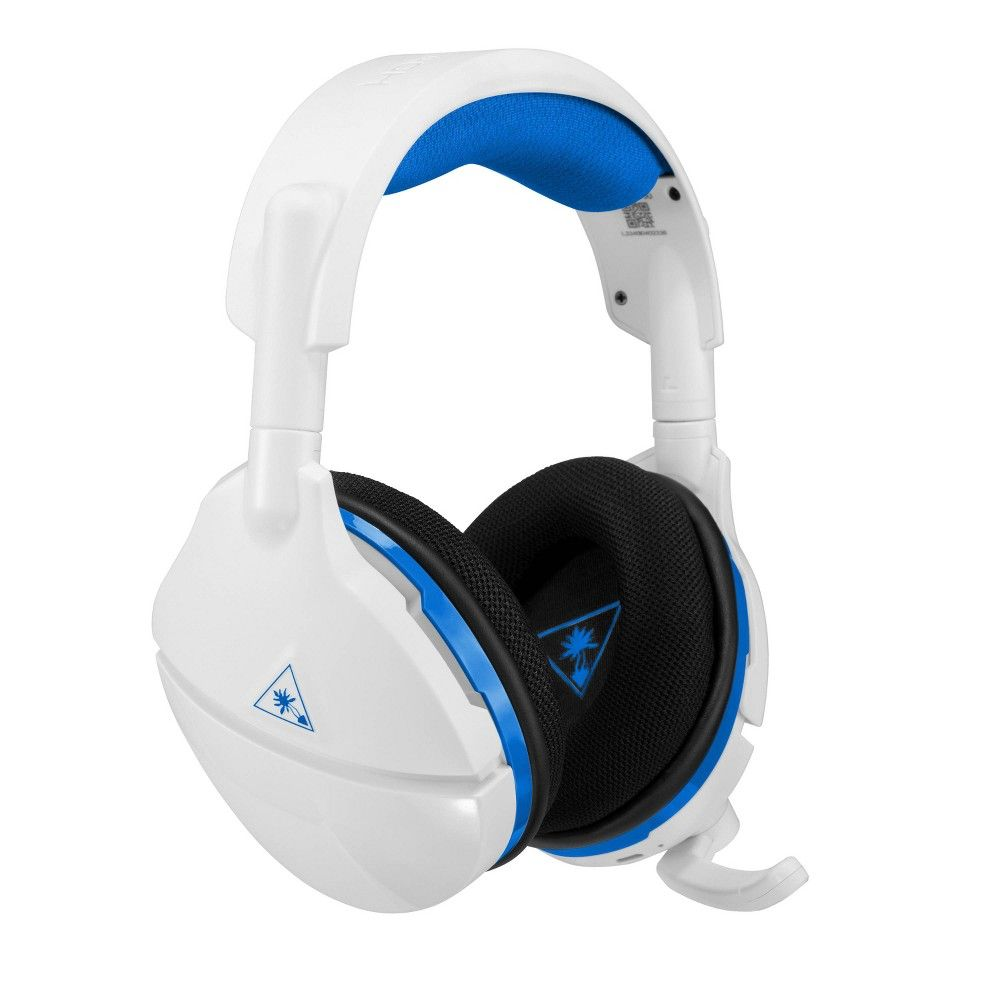 Turtle Beach Stealth 600 Wireless Gaming Headset For Playstation 4 White In 2020 Wireless Gaming Headset Gaming Headset Wireless Surround Sound