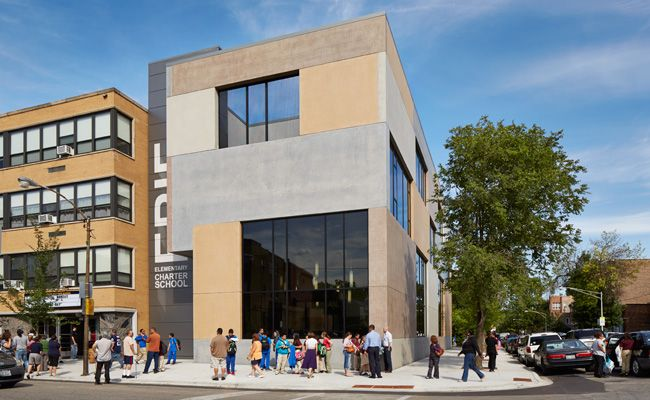 Erie Elementary Charter School By John Ronan Architects In Chicago