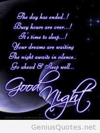 Good Night Quotes And Sweet Dreams Images For A Good Sleep