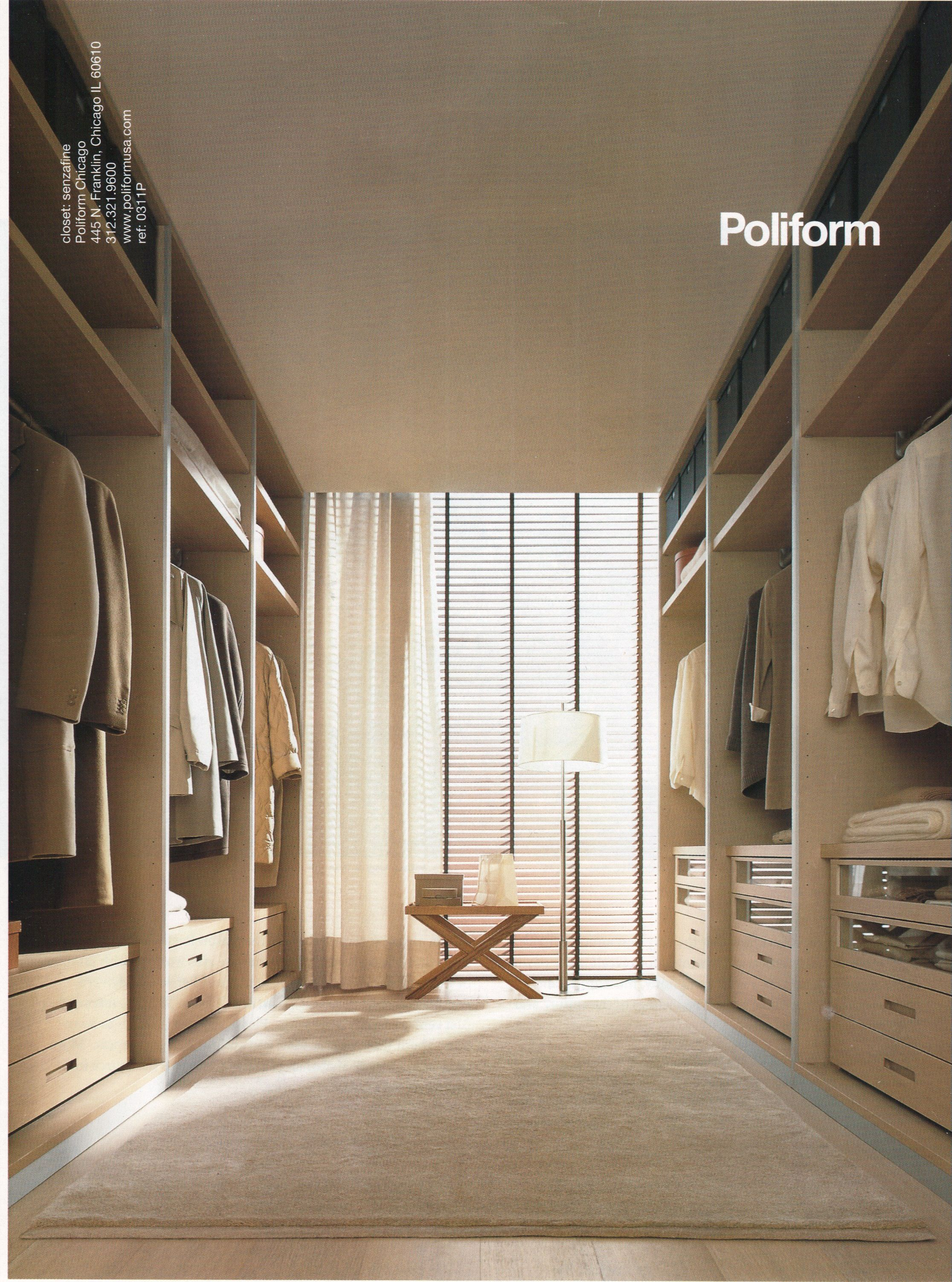 Charmant Poliform Closet