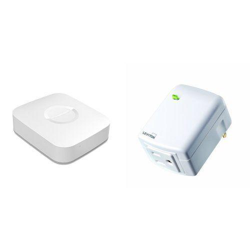 Samsung SmartThings Hub and Leviton PlugIn Appliance