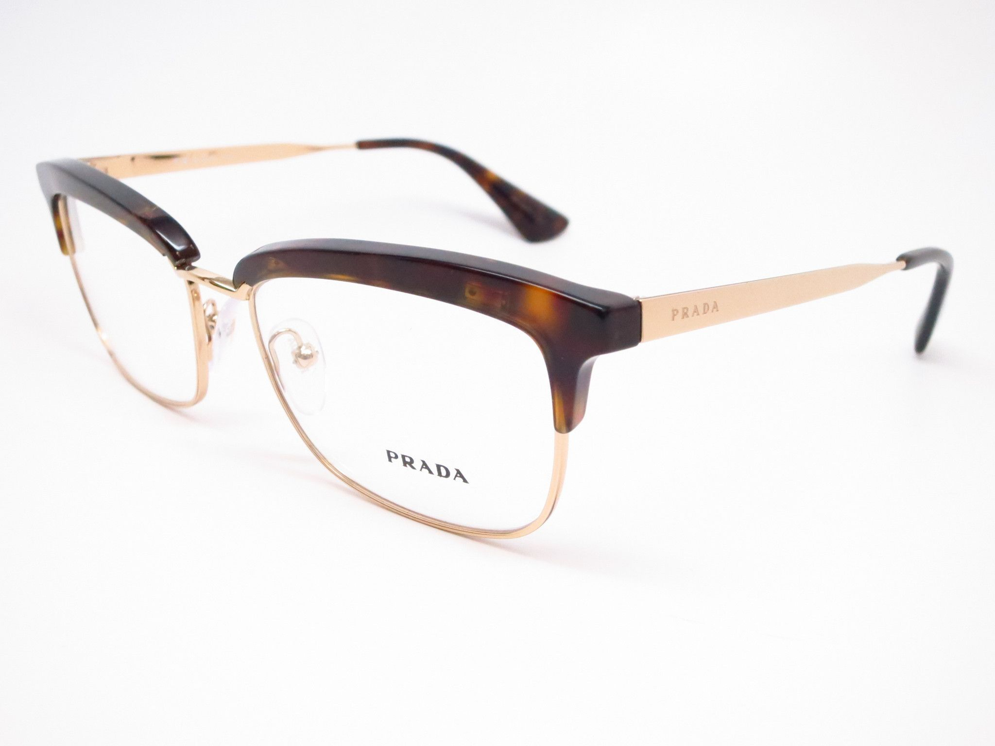 99d004bd6239 Features of the Prada VPR 08S - Elegant rectangle shape - Silicone  nose-pads for