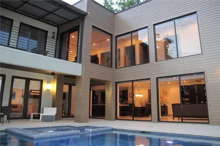 House plan 116 1081 4 bedroom 2652 sq ft modern beachfront home tpc