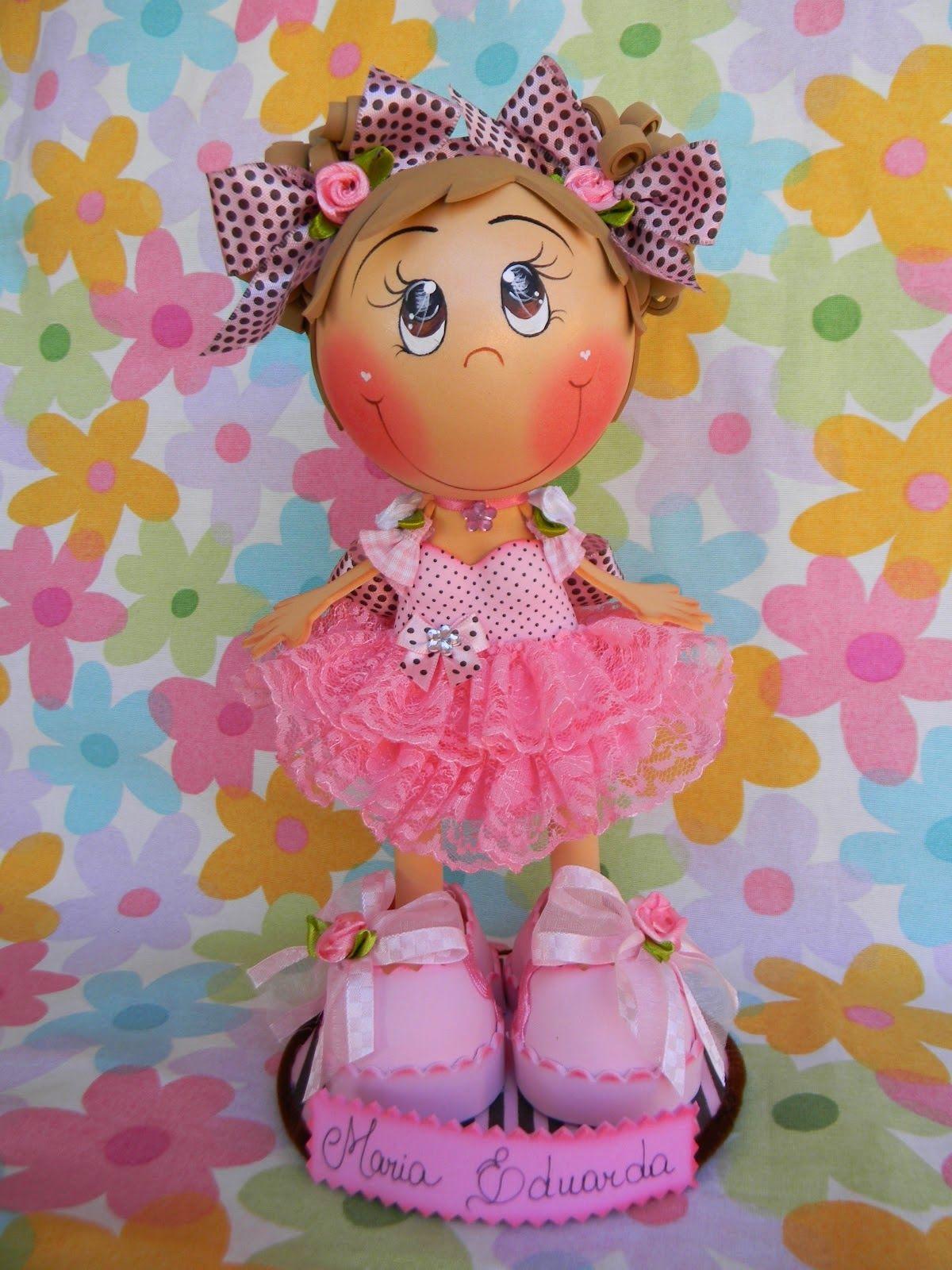 Кукла из фоамирана пошагово с фото