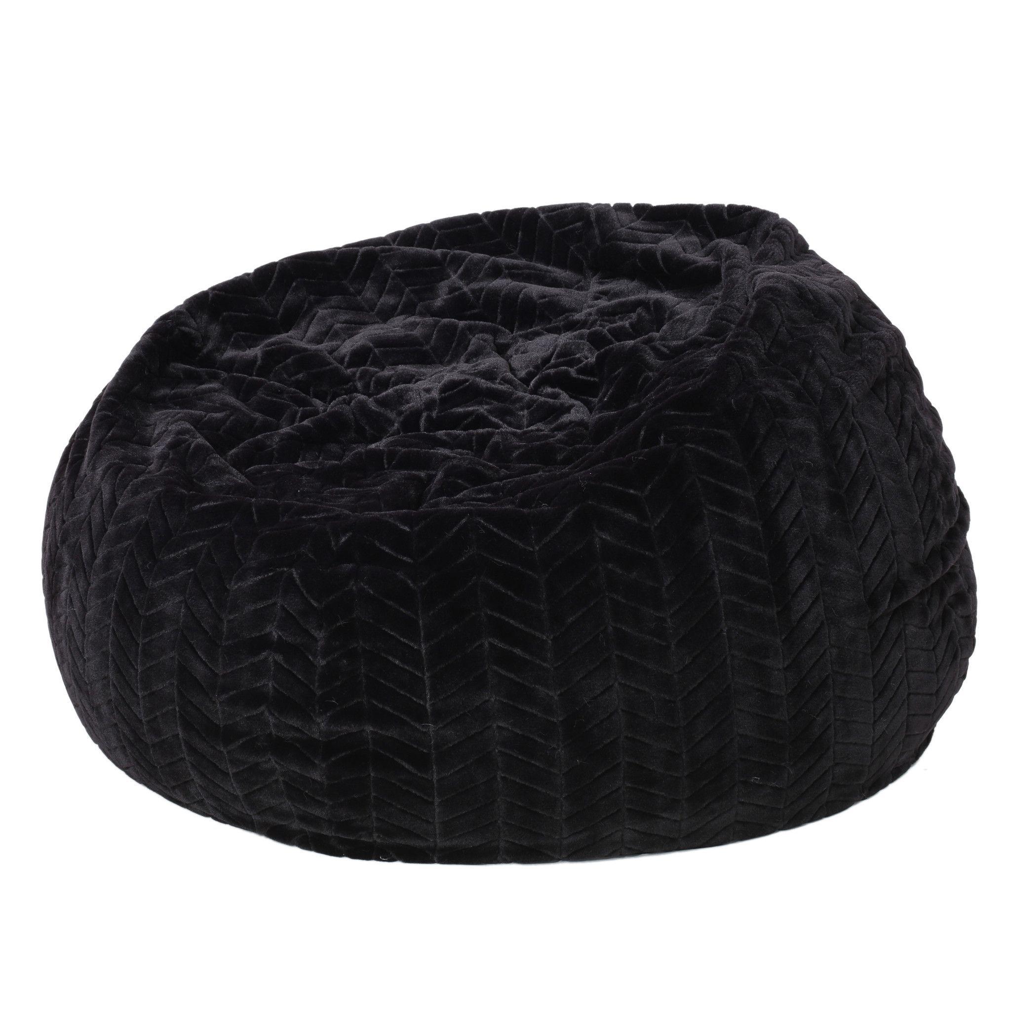 Teal Faux Fur Saucer Chair Beach Towel Clips Canada Meridian Black Fabric Bean Bag In 2019 New House