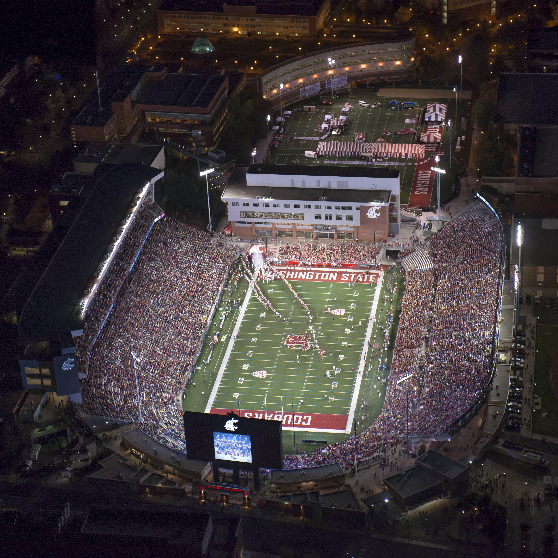 Martin Stadium In 2020 Washington State University Stadium