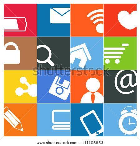 stock-vector-modern-social-media-color-buttons-interface-111108653.jpg (450×470)