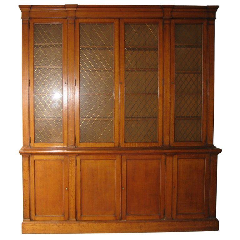 1850s English Oak Bookcase Bookcases Pinterest English