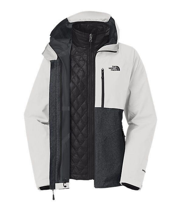 8733f34d2c8c3 The North Face Women s Jackets   Vests INSULATED 3-IN-1 JACKETS WOMEN S  THERMOBALL™ TRICLIMATE® JACKET