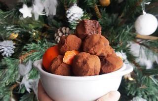 Truffes chocolat & clémentine #truffesauchocolat