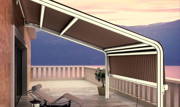 Tende da sole (con immagini) Tenda porta, Tende, Tende