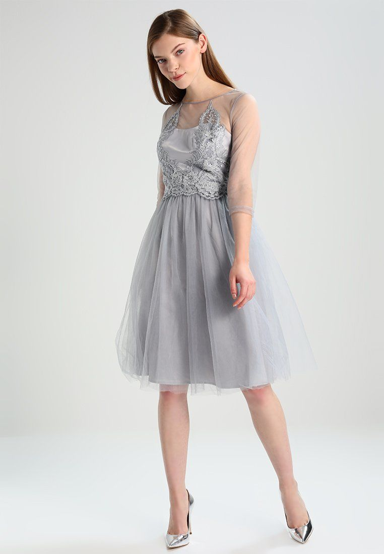 ANDRADA - Cocktailkleid/festliches Kleid - grey | Sweet dress, Chi ...