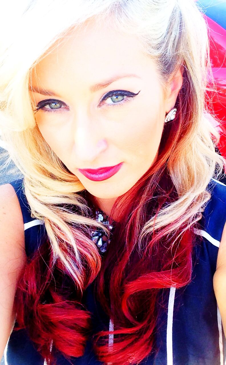 Red lips hair u make up pinterest lips red and red lips