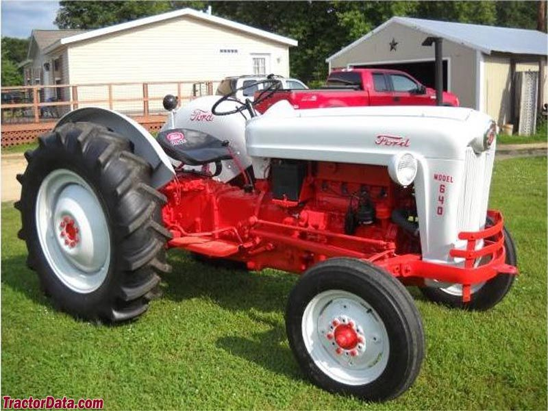 Ford 640 Tractors Tractor Photos Classic Tractor