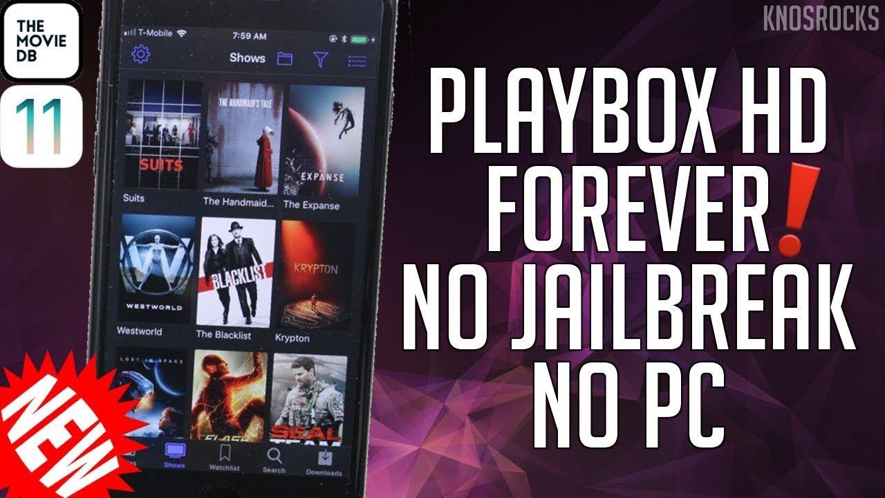 NEW! Get PlayBox HD iOS 11 - 11 3 1 / 10 FREE No Jailbreak