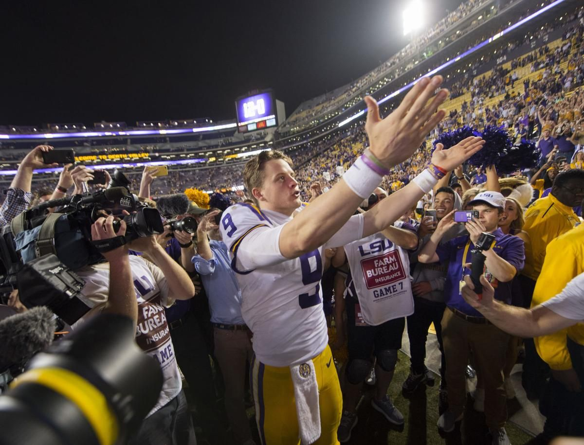 Louisiana Has Loved Joe Burrow And The Quarterback Has Loved It Back I Couldn T Be More Grateful Lsu Theadvocate Com In 2020 Lsu Lsu Football Quarterback