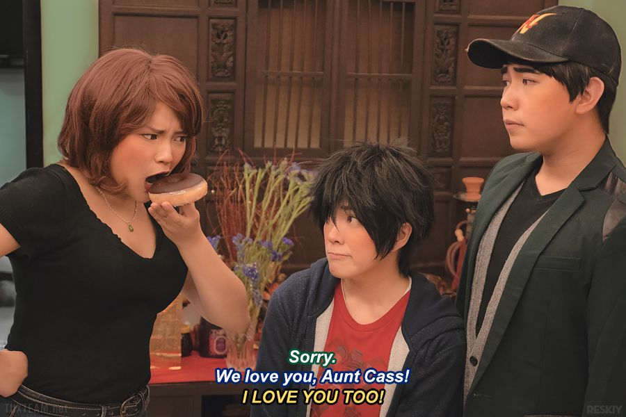 Hiro big hero 6 cosplay