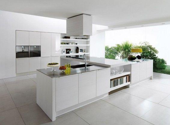 modern white kitchen ▫ Kitchen ▫ Pinterest Modern white