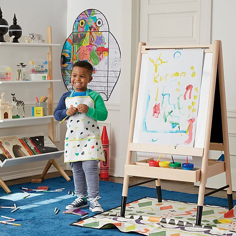 30+ Stylish & Chic Kids Room Decorating Ideas - for Girls ... on Easel Decorating Ideas  id=58947
