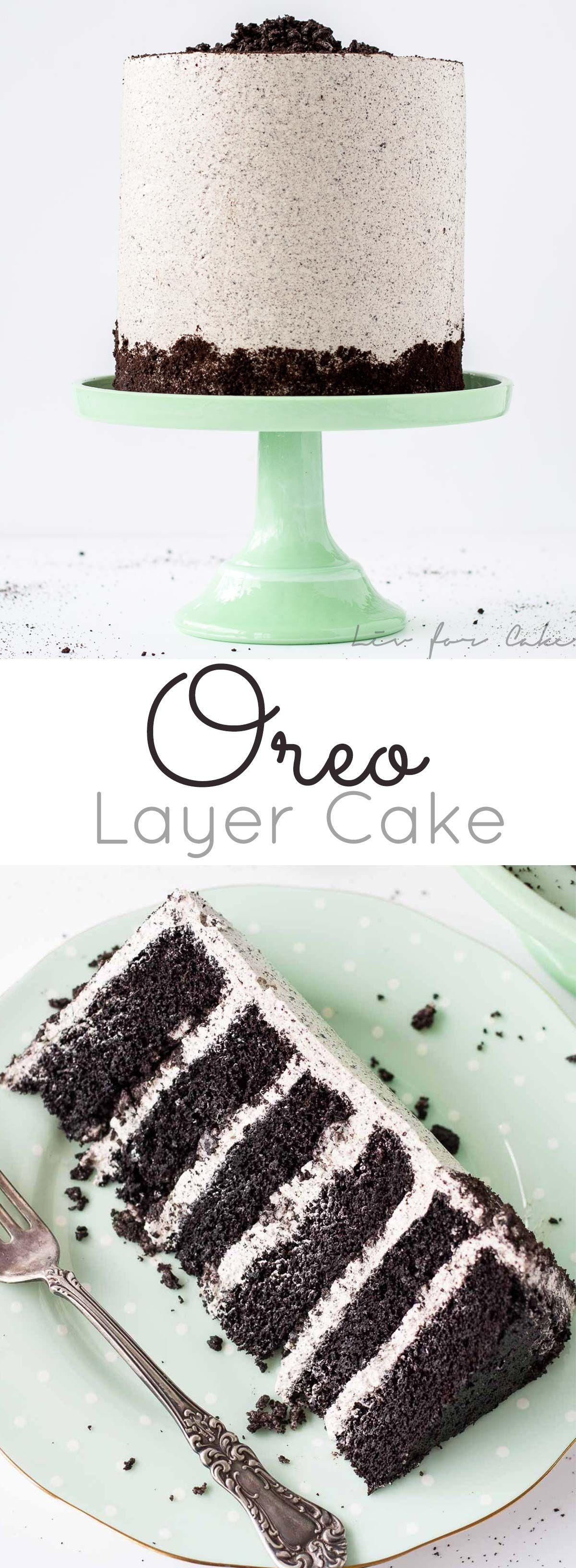 오레오 레이어 케이크