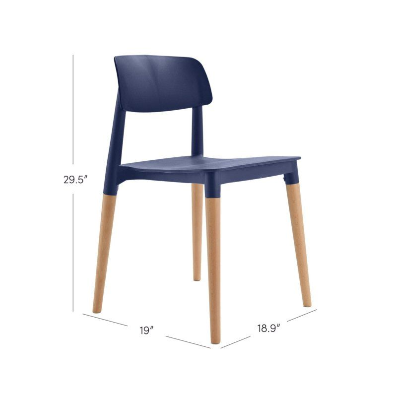 Bel Solid Wood Dining Chair Reviews Allmodern Omg Love This