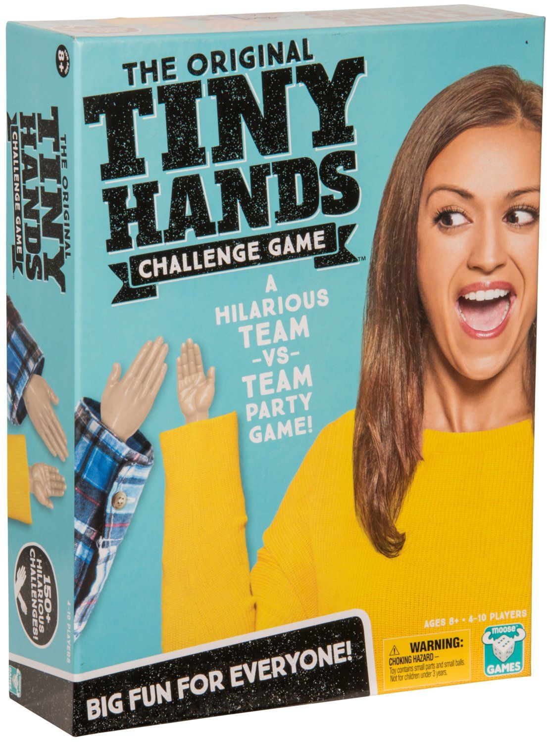 Games The Original Tiny Hands Challenge Childrens Toy