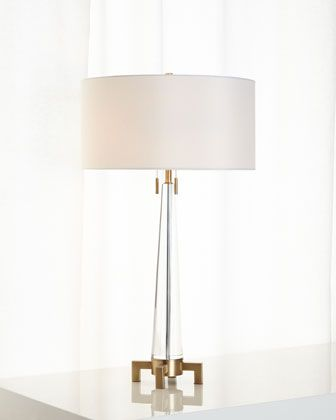 Jenna crystal lamp tall lampsdesigner table