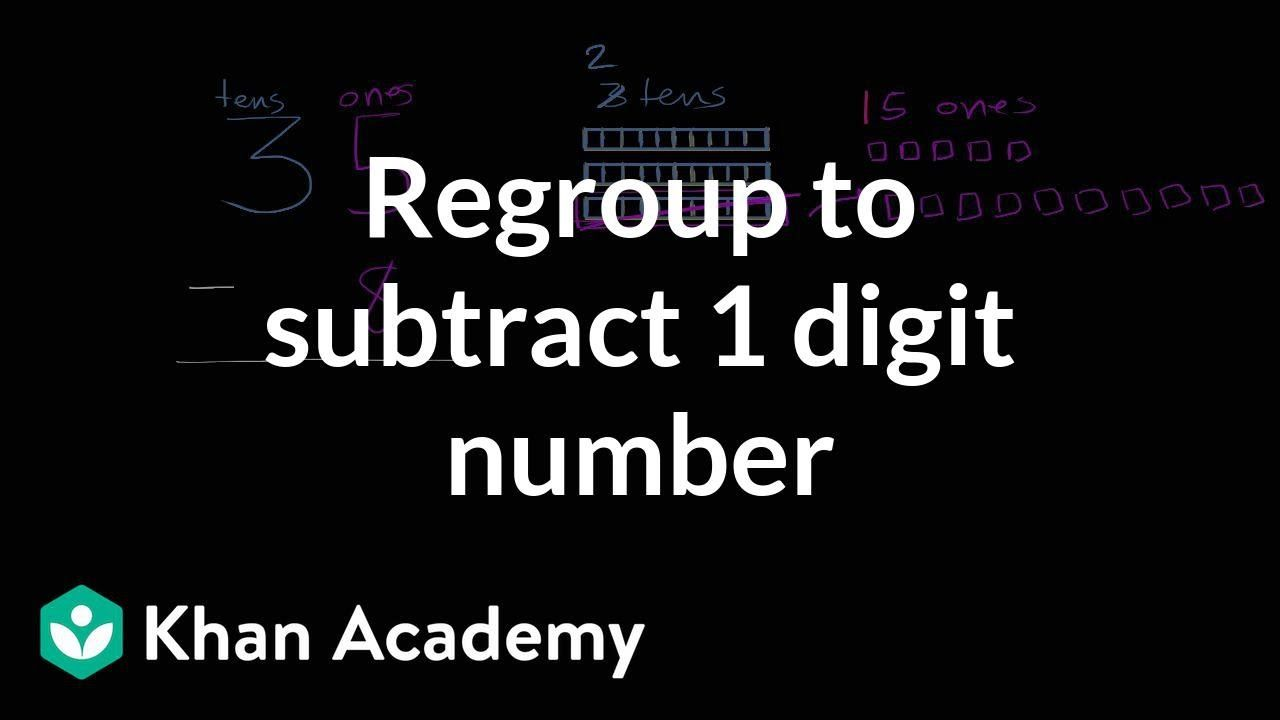 Pin On First Grade Addition And Subtraction Khan academy adding digit numbers