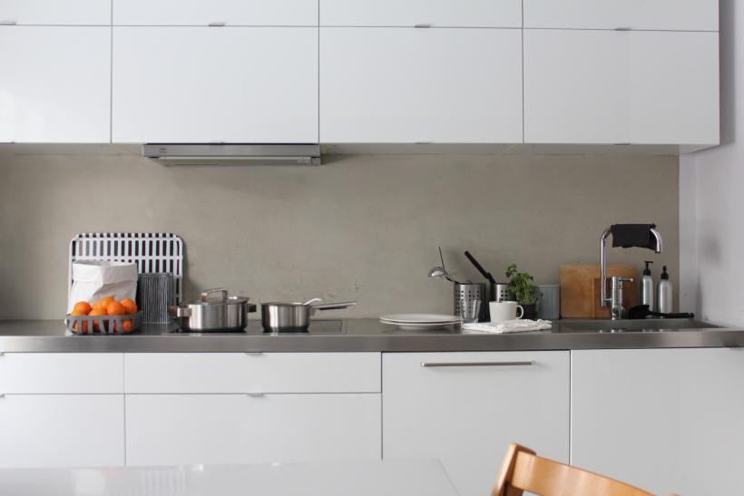 Valkoinen keittiö  Koti ja keittiö  2 H + K remontti