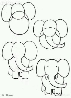 How To Draw Cartoon Animals Google Search Art Pinterest