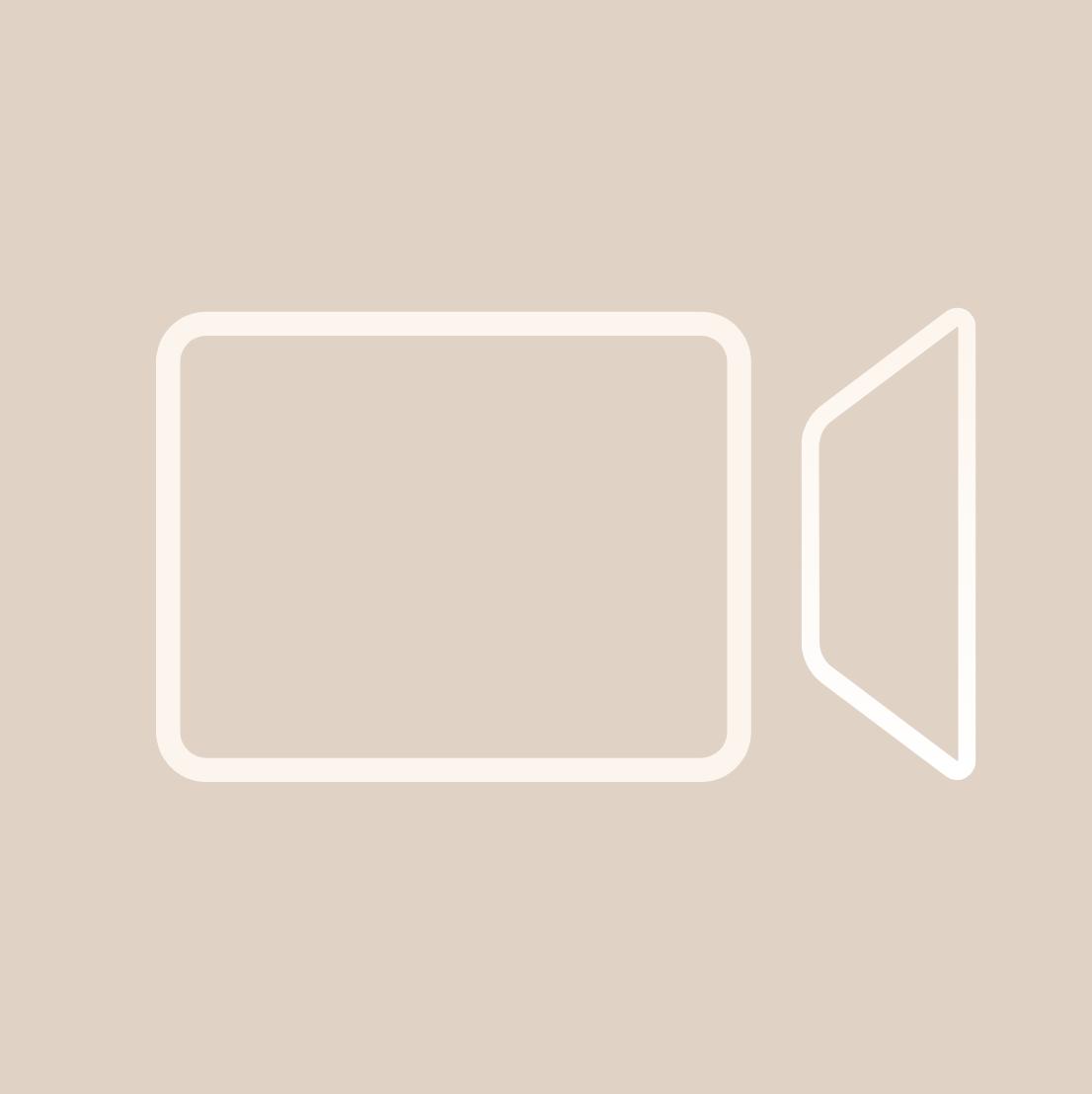 Black Facetime Icon App Icon Iphone Organization Ios Icon
