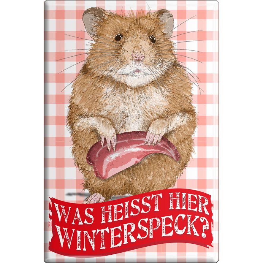 Was heisst hier Winterspeck Hamster Gr. ca. 8