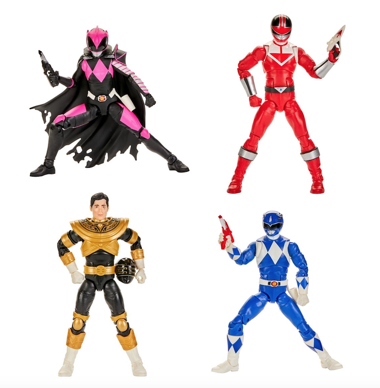 """MMPR POWER RANGERS SPD Space Police RED 5/"""" TOY figure"""