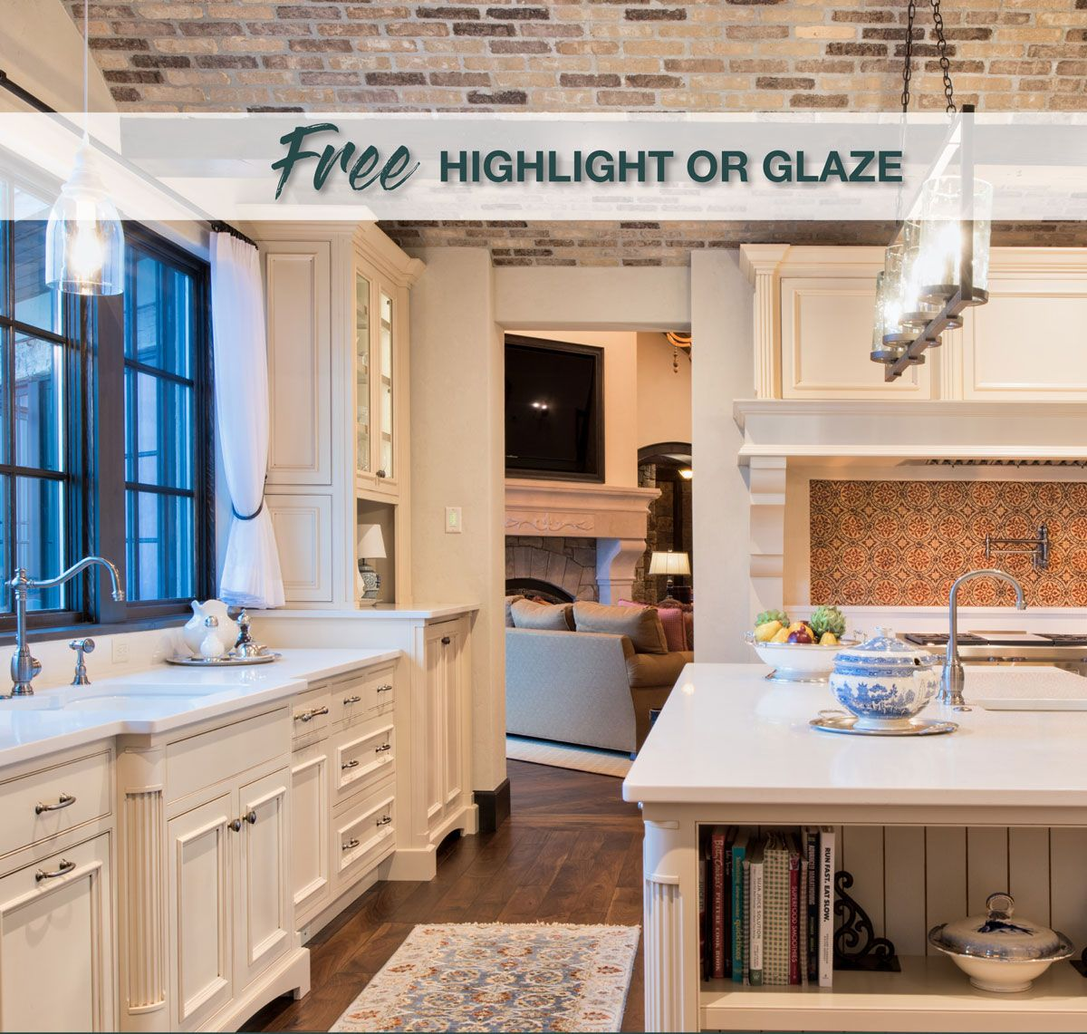 Crystal Is Offering An Amazing Deal On Cabinets For Your Kitchen Or Bath Free Glaze Or Highlight On All K Custom Kitchens Design Kitchen And Bath House Design