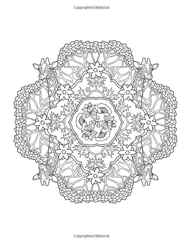 Creative Haven Mandalas Collection Coloring Book
