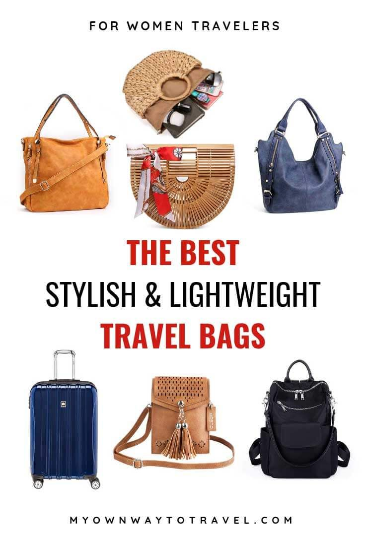 Best Travel Bags For Women Stylish Lightweight Products Pinterest