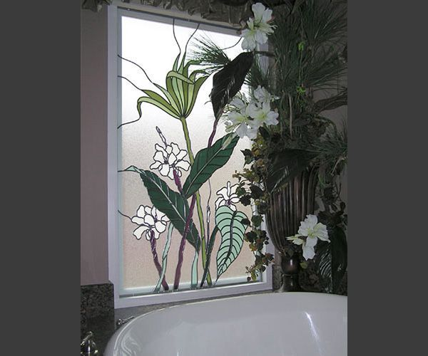 Stained Glass Panels for Bathroom Stained Glass Panels for