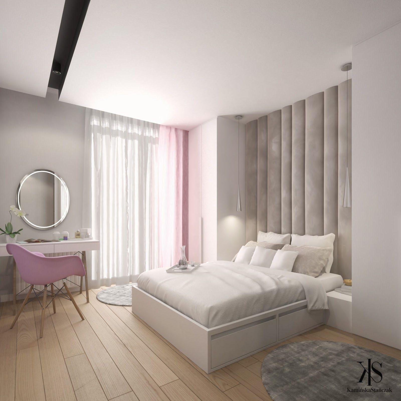 Projekt Sypialni Wnętrza Projektant Wnętrz Sypialnia W