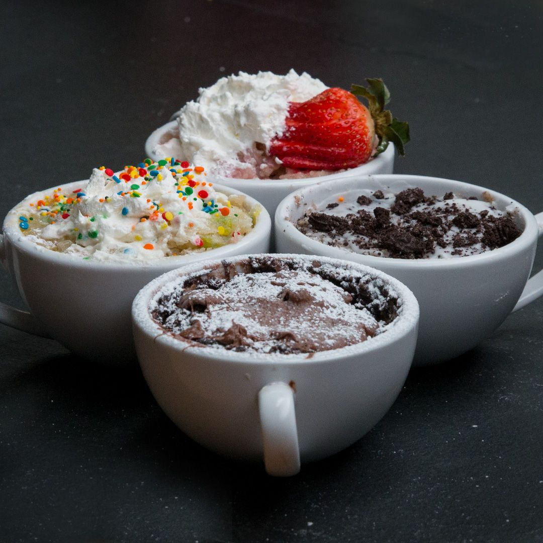 3 minute mug cakes 4 ways cake food and recipes 3 minute mug cakes 4 ways forumfinder Image collections