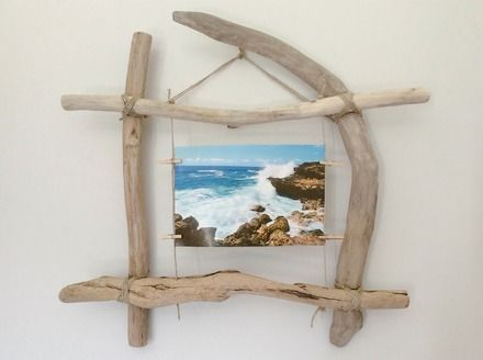 Cadre Coadout - Référence C014 Cadre photo en bois flotté pour une