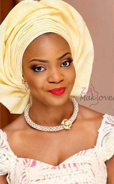 Attachés foulards gélé wrap headwrap ~Latest African ...