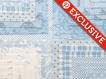 41% off Moda Layer Cake (Puttin' on the Ritz). Click: http://www.craftsy.com/ext/20120915_Pin4